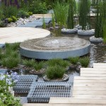 Bluewater Roofgarden - Raised Water Feature