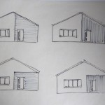 front elevation cladding ideas
