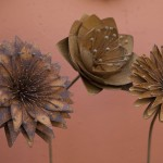 Flower Sculptures by Tom Critchley
