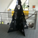 2m tall Black Acrylic Christmas Tree