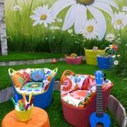Playful Garden Design on display at Grand Designs Live