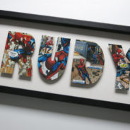 Comic Strip Word Art